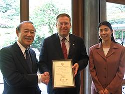 カート・トン 米国大使館首席公使送別会を開催