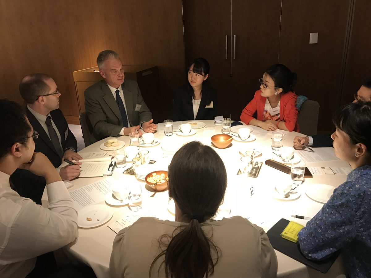 The First Next Generation Roundtable in Tokyo (2018-2019)