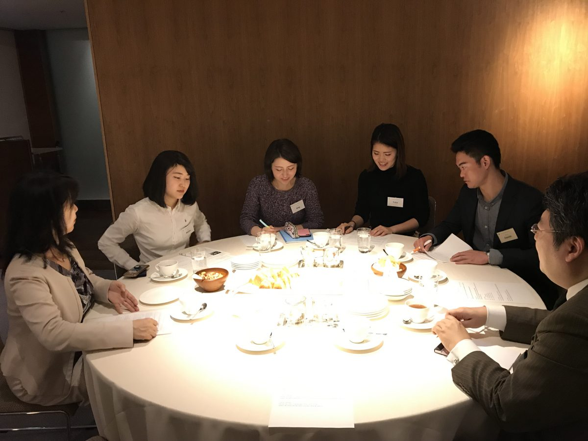The 6th Next Generation's Roundtable in TOKYO (2018-2019)