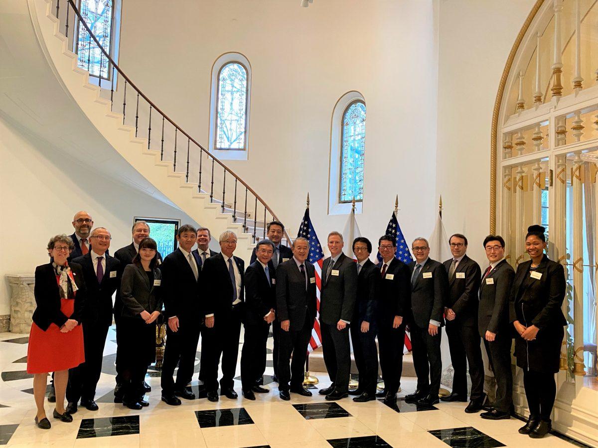米国大使公邸昼食会