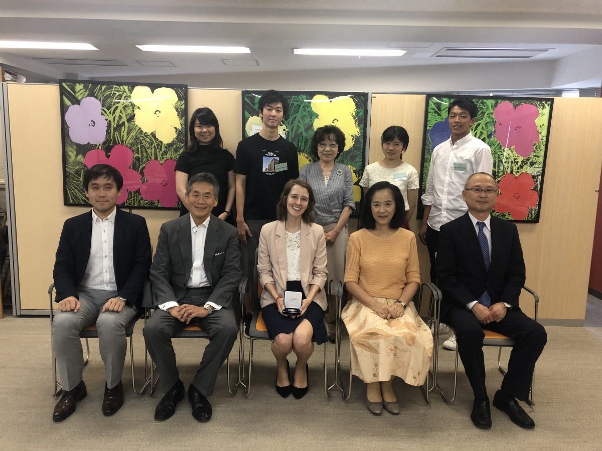 Visit & Study Japan Grant Program Report by the Recipient, Ms. Mary Collier Wilks